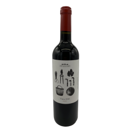 Red wine Young Los Aguilares bottle 750ml.