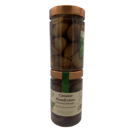 Chestnuts with brandy brand La Molienda 300gr
