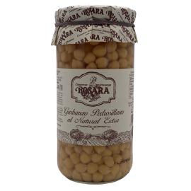 Chekpeas natural Rosara 1kg in glass