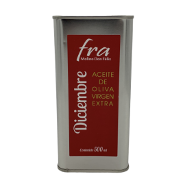 Virgin olive oil brand Fra November tin 500ml