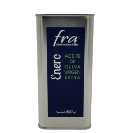 Virgin olive oil brand Fra January tin 500ml