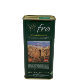 Virgin olive oil brand Fra tin 250ml