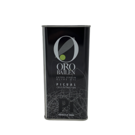 Olive oil picual Oro Bailen 500ml tin