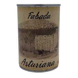 Asturian bean stew brand Huertas tin of 1/2 kg