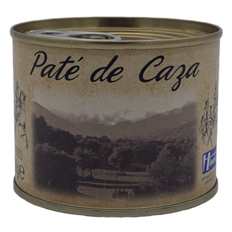 Wild animal pate Huertas tin 200gr