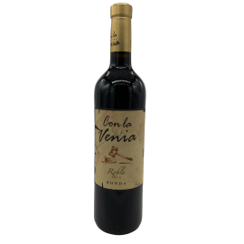 Vino tinto con La Venia Roble 750ml
