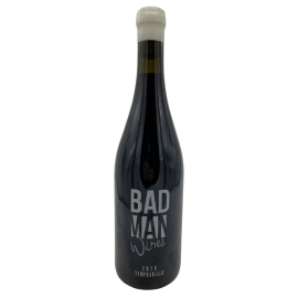 Red wine Bad Man variety Tempranillo bottle 750ml.
