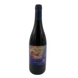 Red wine Morosanto varieted Cabernet from Ronda bottle 750ml.