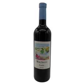Red wine Morosanto Lucio from Ronda bottle 750ml.