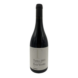 Red wine Los Aguilares Tadeo varieted 100% Petit Verdot bottle 750ml