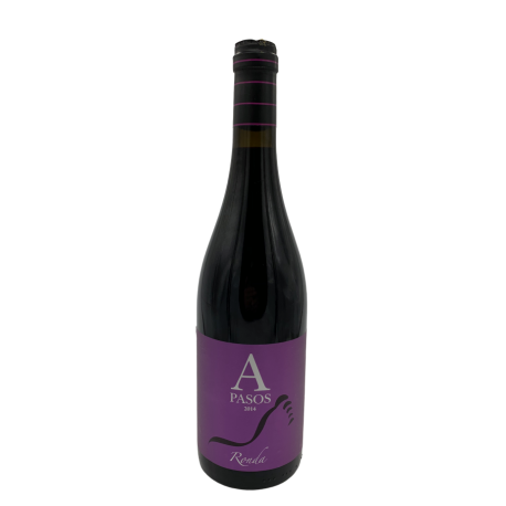 Red wine A Pasos Agring bottle 750ml.