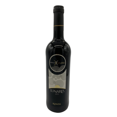 Red wine Lunares from Ronda bottle 750ml.